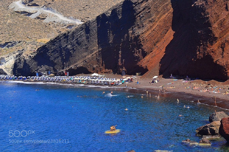 Photograph Red Beach- Santorini by Zeynep Ugurdag on 500px