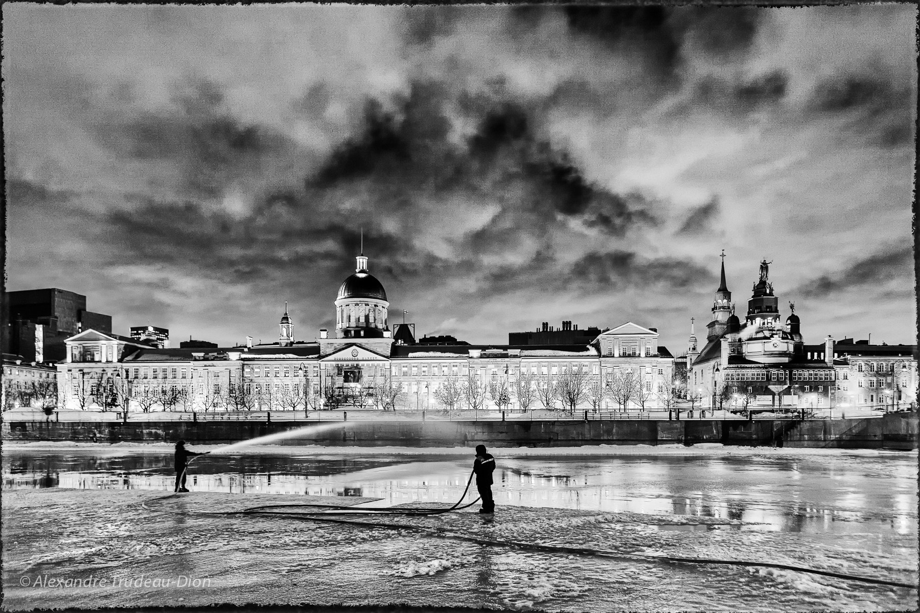 Photograph Watering the ice by Alexandre Trudeau-Dion on 500px