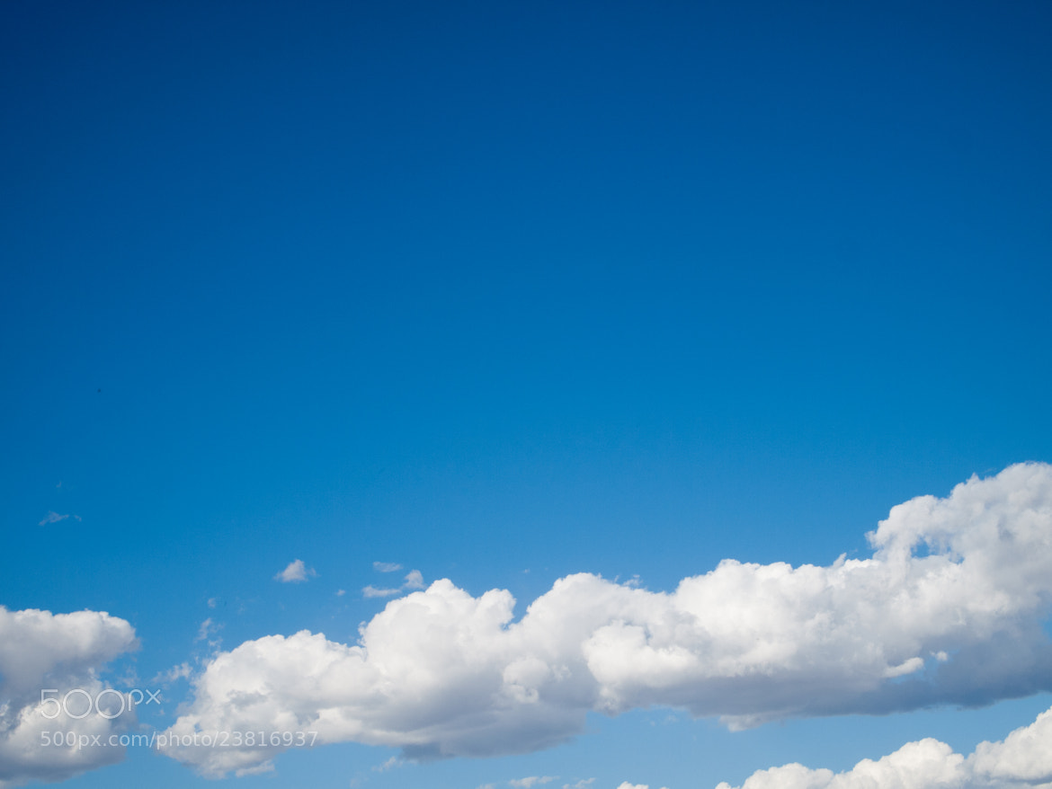 Photograph White Fluffy Clouds by Moiz Merchant on 500px