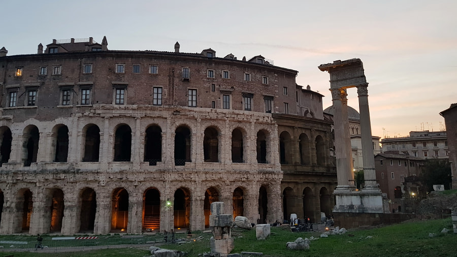 Theatre of Marcellus, Rome by Sandra on 500px.com