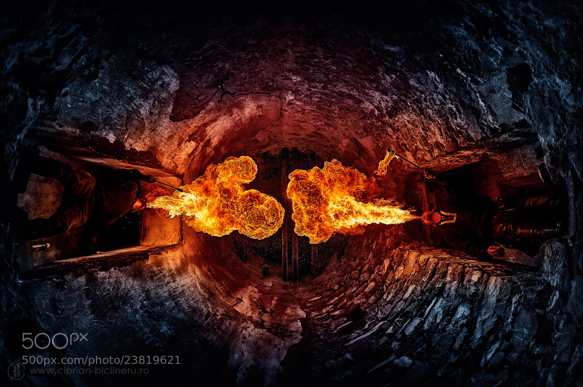 Photograph fight fire with fire by Ciprian Biclineru on 500px