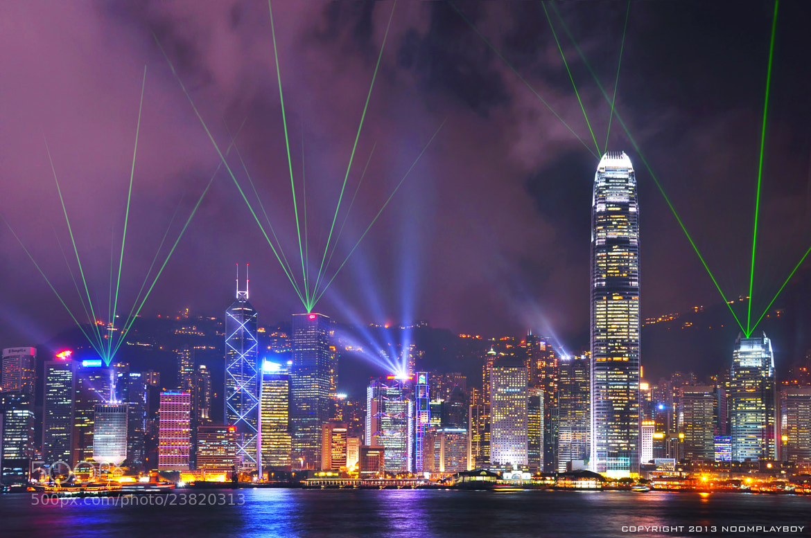 Photograph Hongkong A Symphony Of Lights by noomplayboy  on 500px