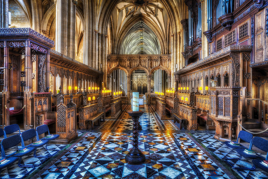 Photograph The Quire. by Tim Pursall on 500px