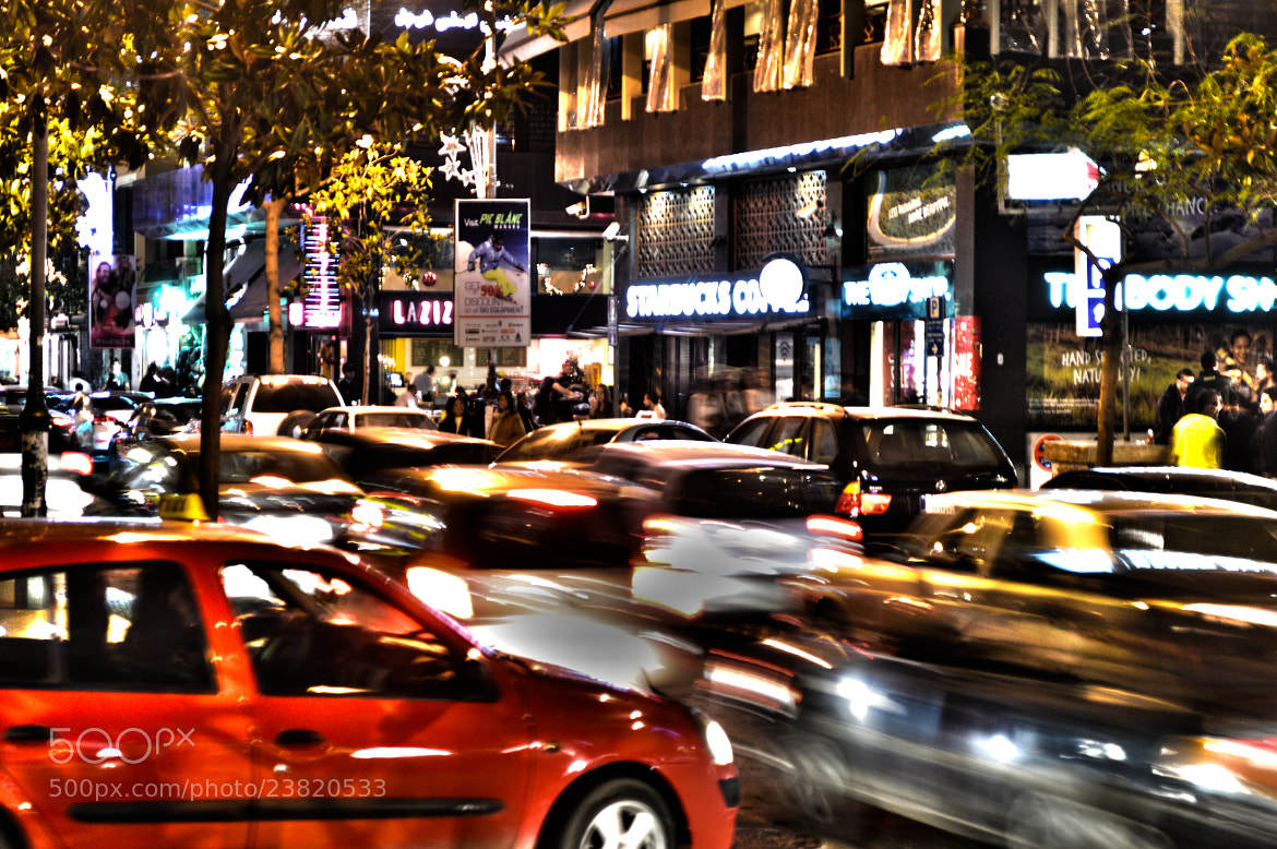 Photograph Hamra 'Strt by Ralph Nakad on 500px