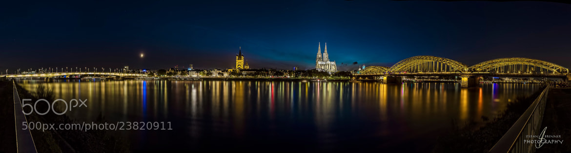 Photograph Cologne by Night by Stefan Brenner on 500px