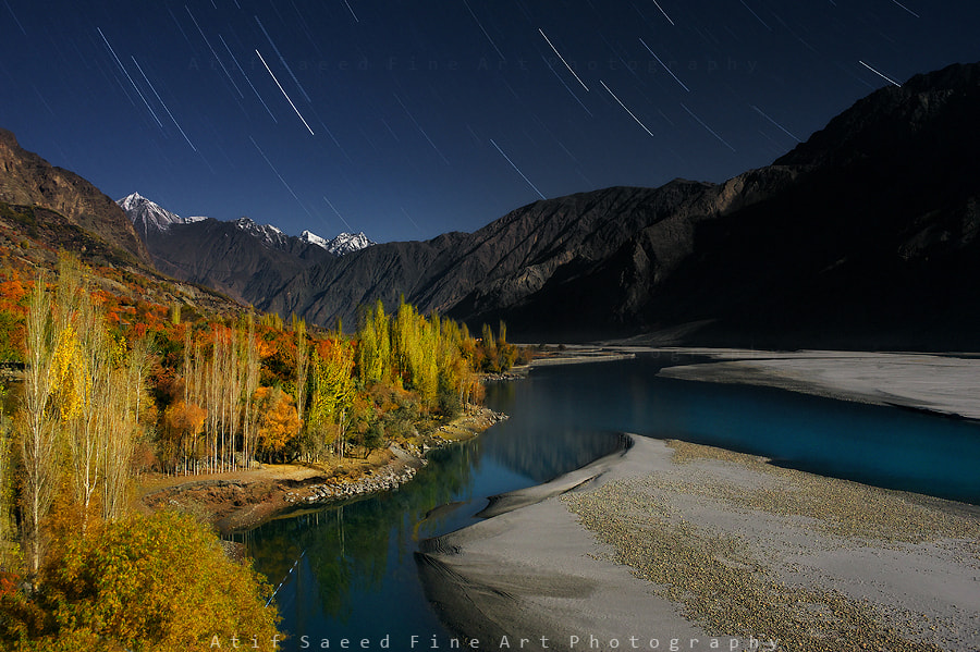 Photograph Autumn Night.. by Atif Saeed on 500px