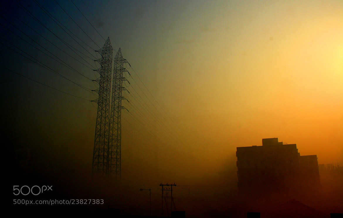 Photograph Foggy city by Pranab Ghosh on 500px