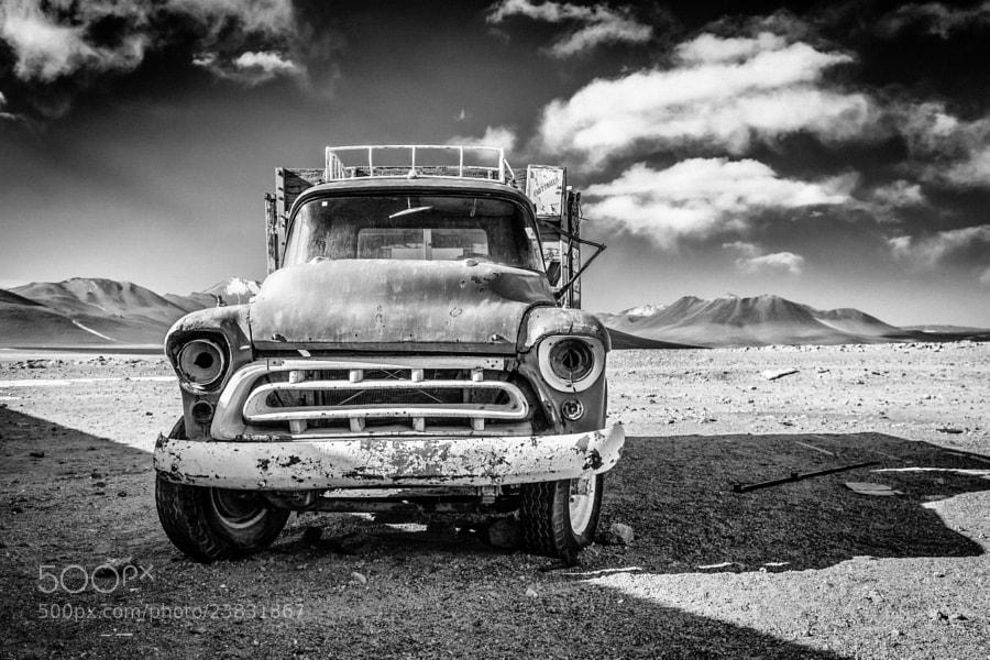 Old Truck by carlos restrepo (carlosrestrepo)) on 500px.com