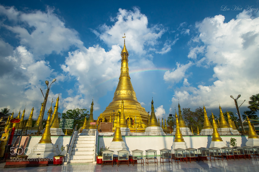 Photograph ::: Kangyi Pagoda ::: by Lin Htet Aung on 500px