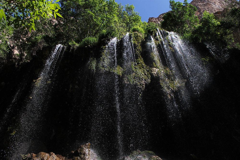 Photograph Akhlamad Waterfalls by Isa A. Ebrahim on 500px