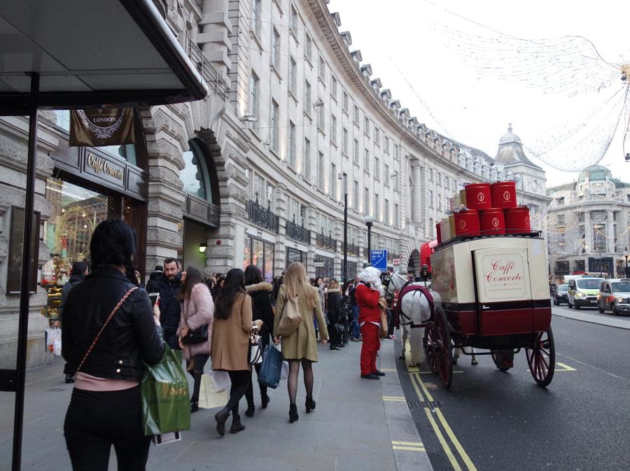 Regent Street, London by Sandra on 500px.com