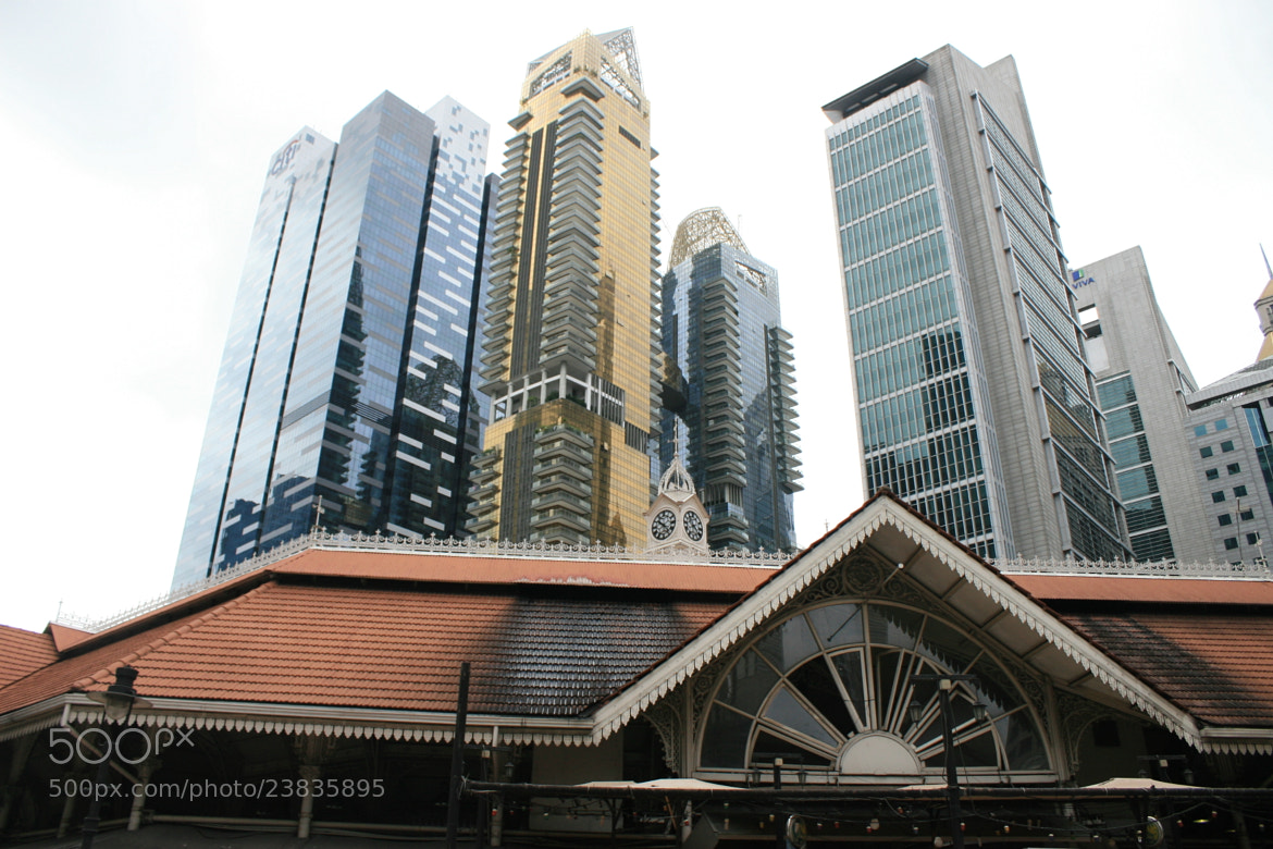 Photograph old market , new city by William Yee Khai Teo on 500px
