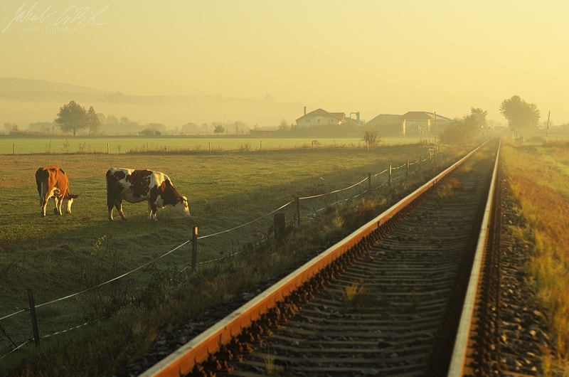 Photograph Morning life at railway by Jakub Cíbik on 500px