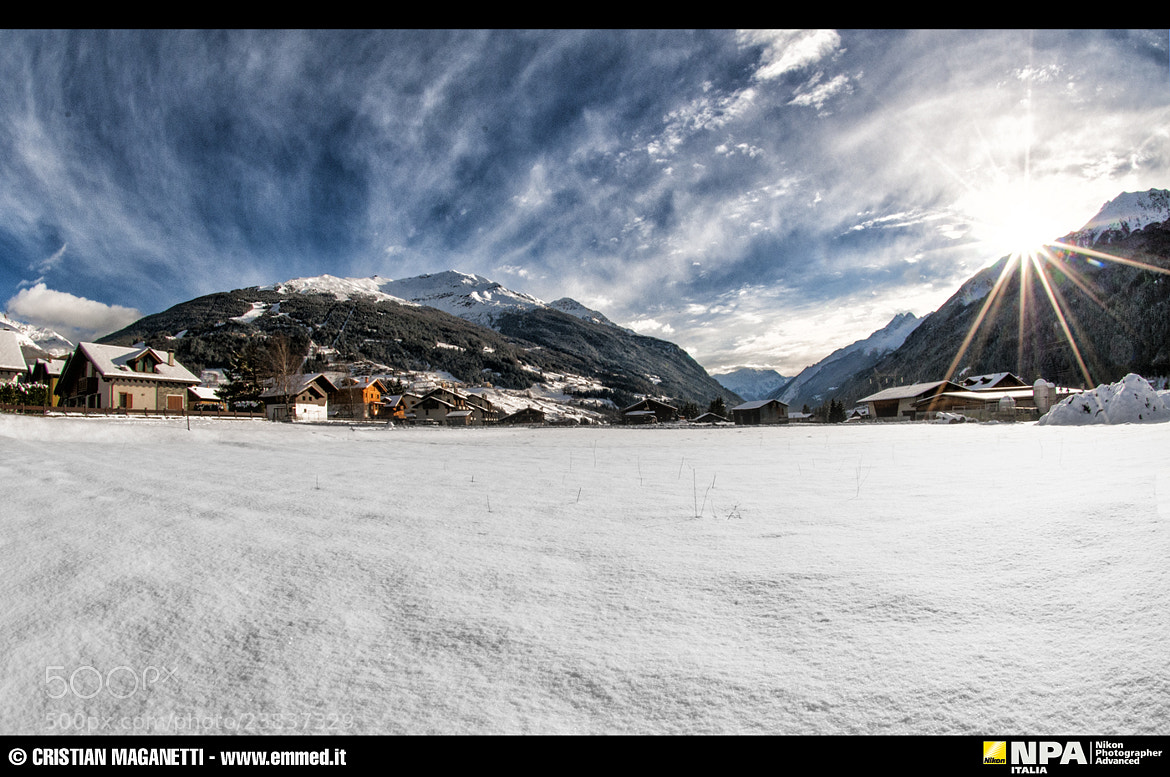 Photograph Lake snow - Bormio - Italy by Cristian Maganetti on 500px