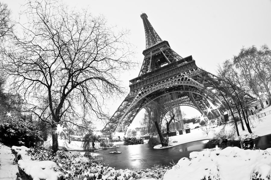 Photograph Paris sous la neige II by Jürgen GOLDHORN on 500px