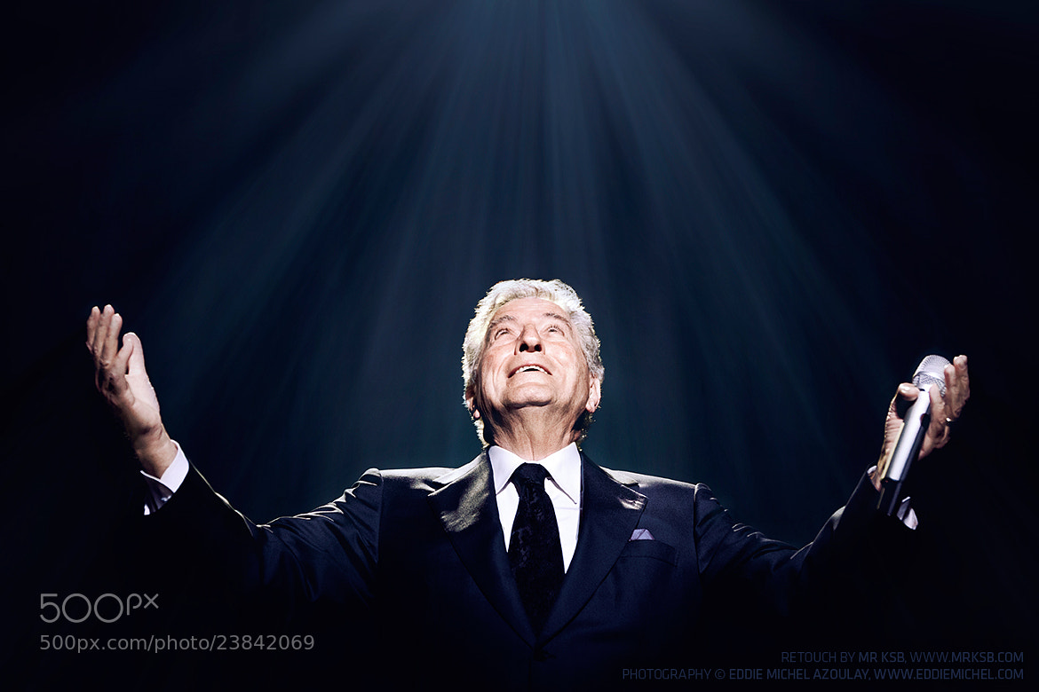 Photograph Tony Bennet by Kim S. Brockie on 500px