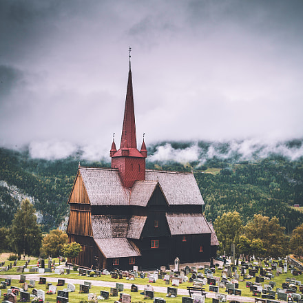 A Stave Church in Norway