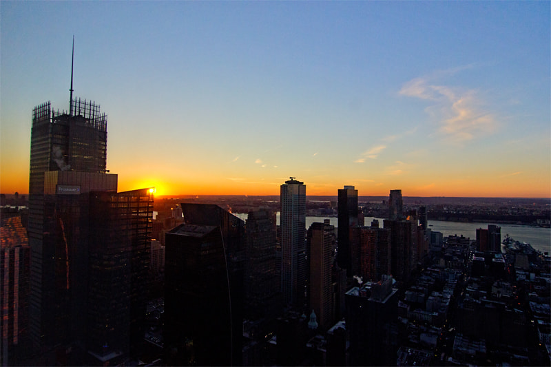 Photograph Midtown Sunset by Matthew Bredehoft  on 500px