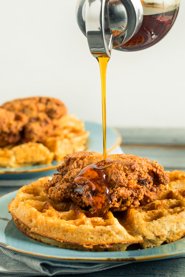 Homemade Southern Chicken and Waffles by Brent Hofacker on 500px.com