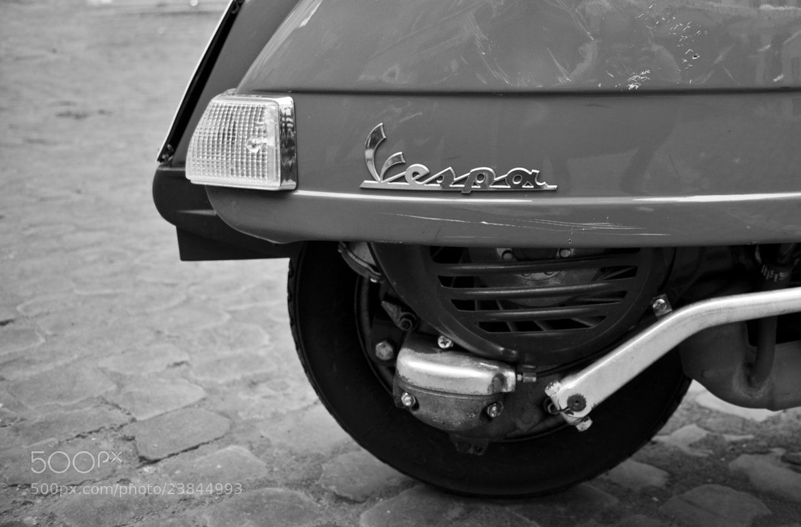 Photograph Vespa, Rome by Daniel Nordholm on 500px