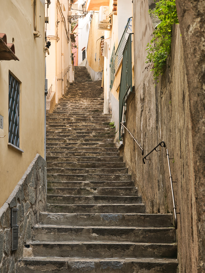 Stepping Up in Positano by Des Paroz on 500px.com