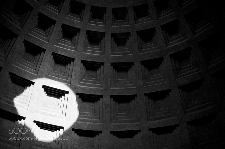 Photograph Pantheon, Rome by Daniel Nordholm on 500px
