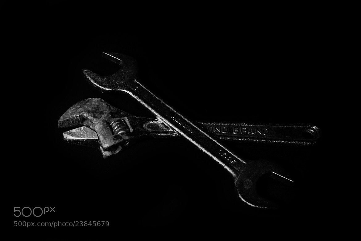 Photograph Rusty Wrenches by Nina Olaqi on 500px