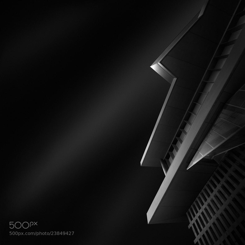 Photograph ode to black II - abstract black by Julia Anna Gospodarou on 500px