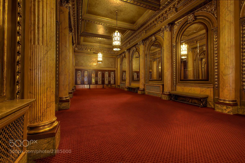 Photograph Winter Garden Theatre, Hallway. by Roland Shainidze on 500px