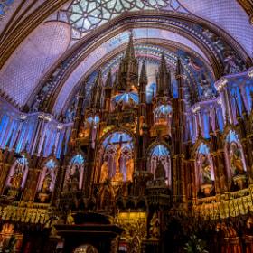 Basilique Notre Dame Montreal #1