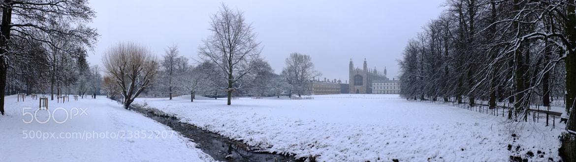 Photograph King's College, Cambridge by Dana Pavel on 500px