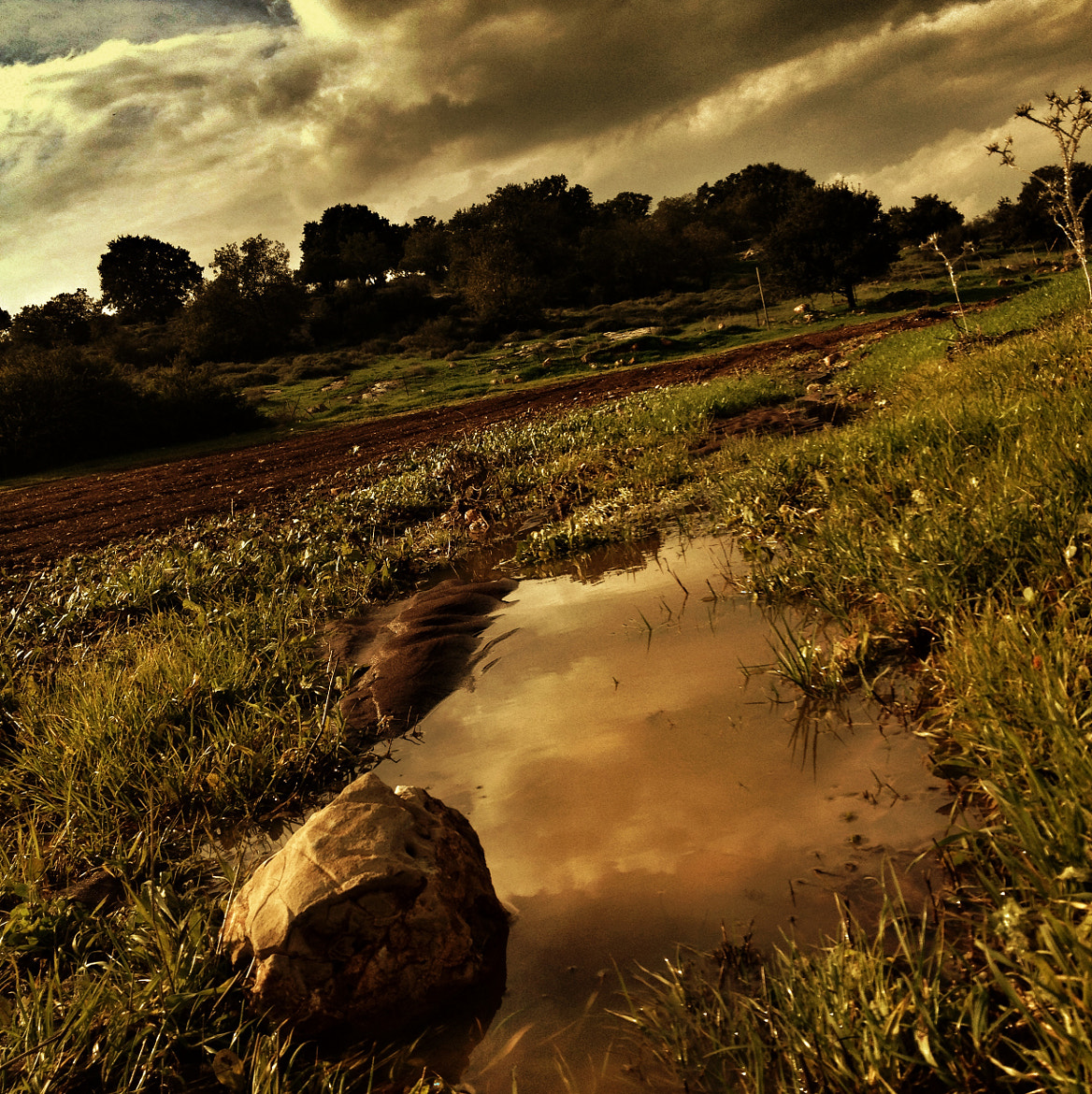 Photograph sky puddle by yaara duvdevan on 500px