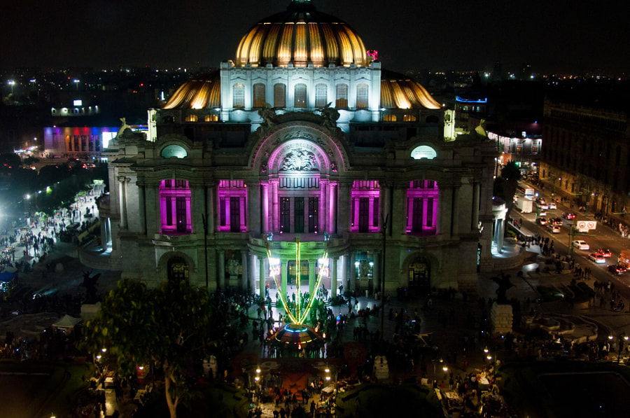 Night in México City by Cattiva Kat on 500px.com