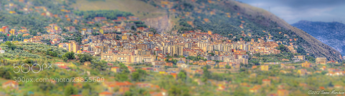 Photograph monreale hdr tilt n shift by simone marchese on 500px