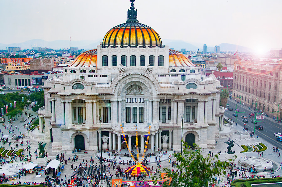 Palacio de Bellas Artes Mexico City by Cattiva Kat on 500px.com