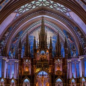 Basilique Notre Dame Montreal #2