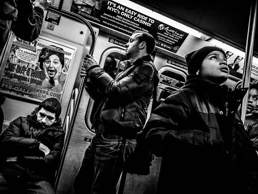 Photograph Street Photograph of the Day   L-Train to Manhattan   Brooklyn, NY by Jonathan Auch on 500px