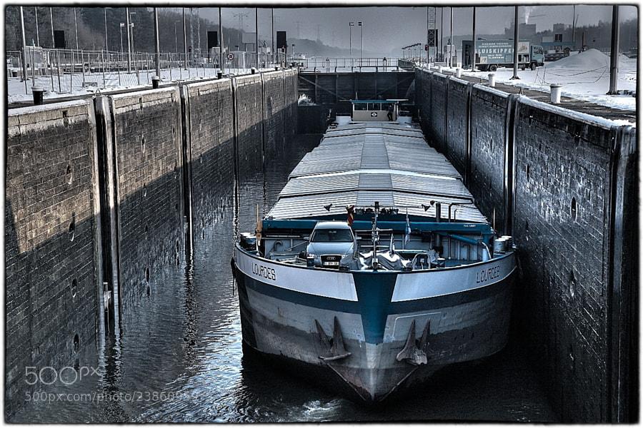 Boat lock Herentals