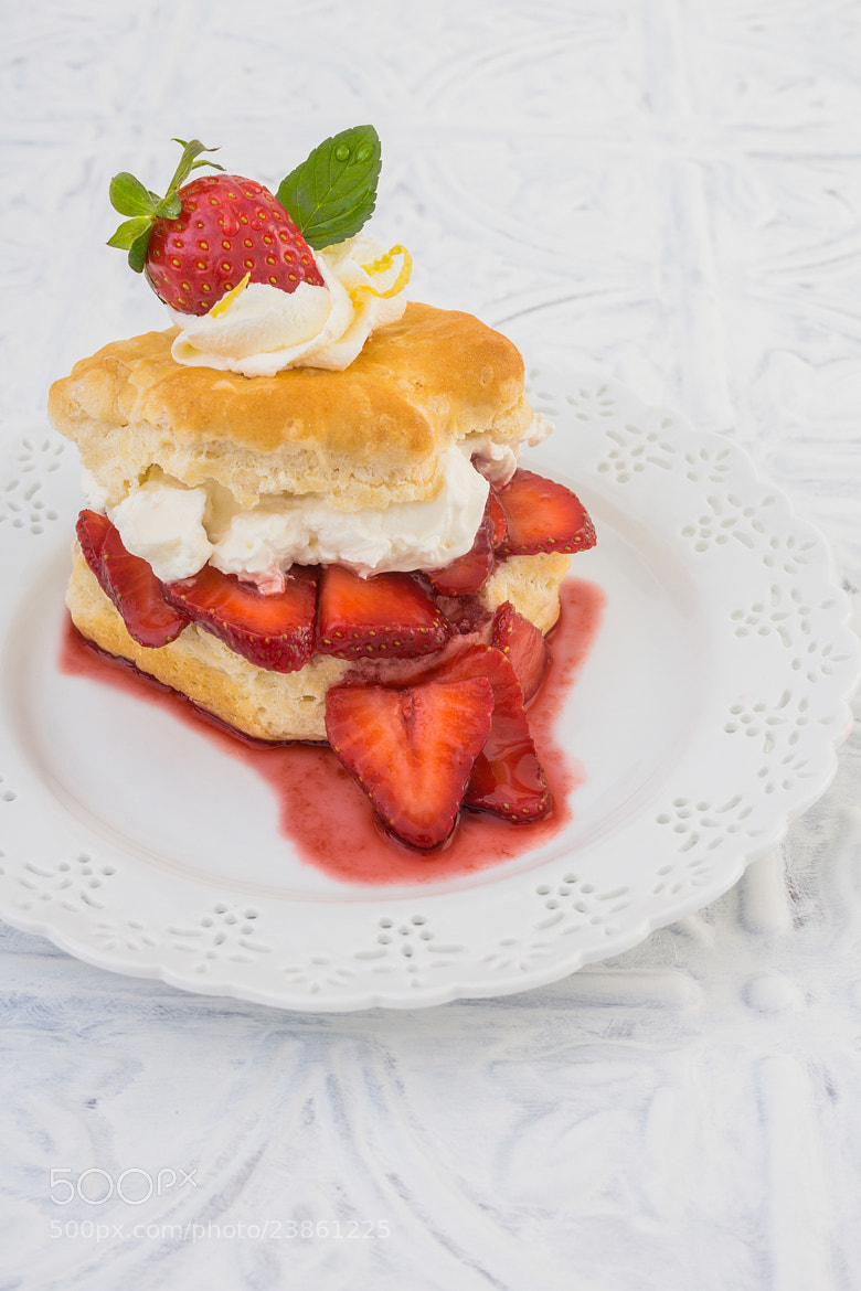 Photograph Balsamic Buttermilk Biscuit Shortcake by Suzanne Clements on 500px
