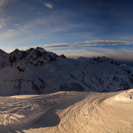 Last ski run