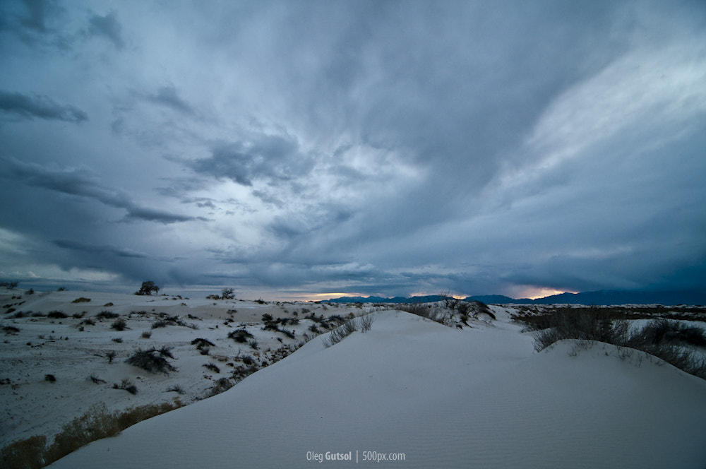 Photograph Sunset in White Sands by Oleg Gutsol on 500px