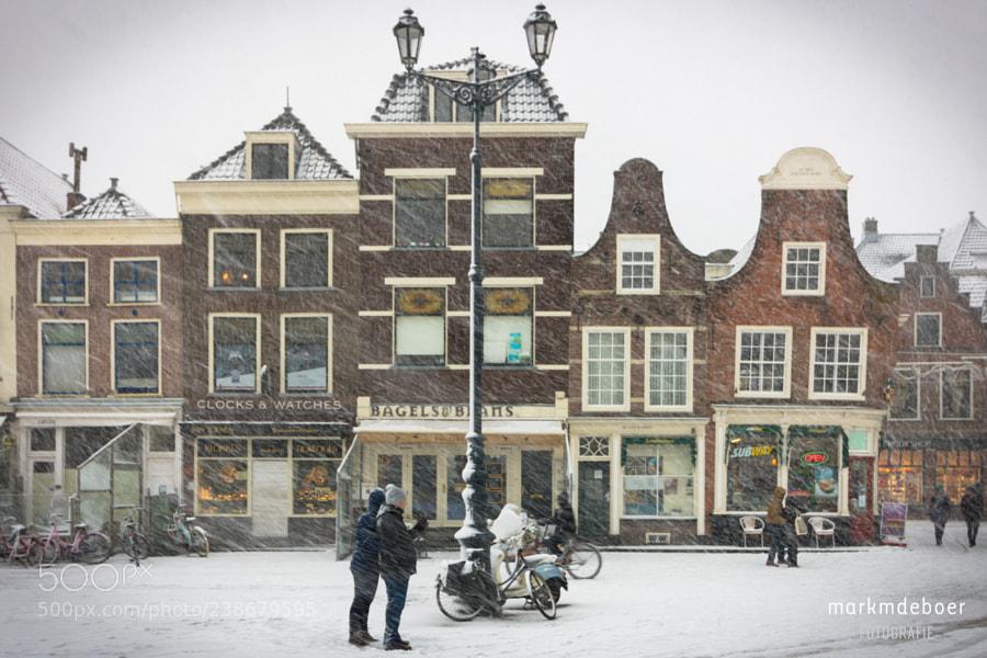 Snowy Delft