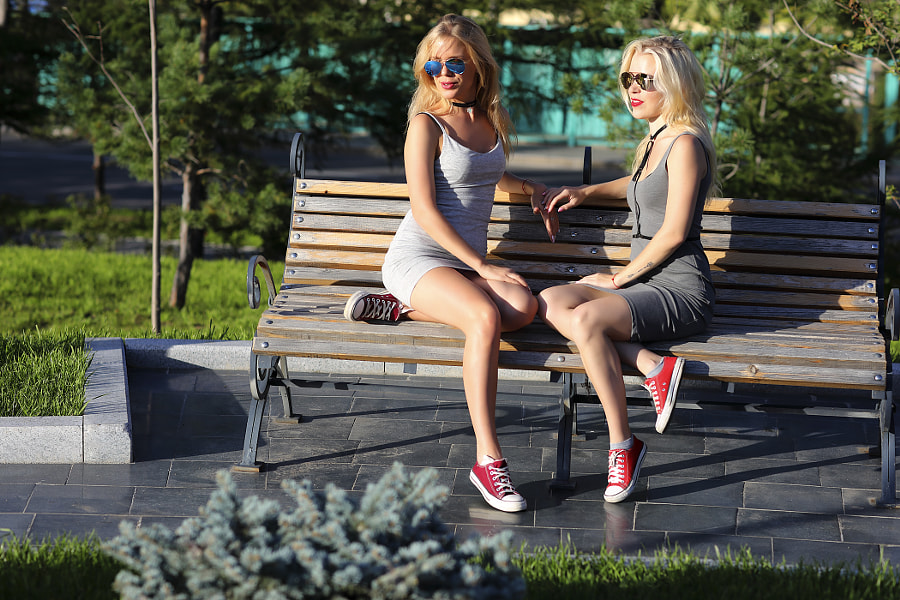 Two sisters. A meeting, автор — Сергей К на 500px.com
