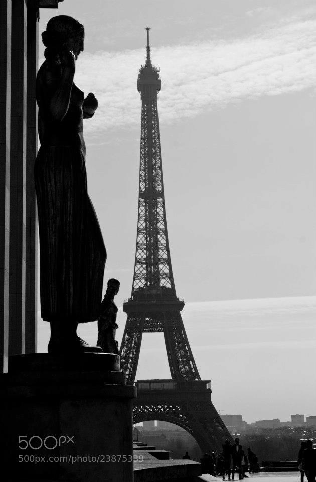 Photograph Jardins du Trocadéro by Ruben Rosales on 500px