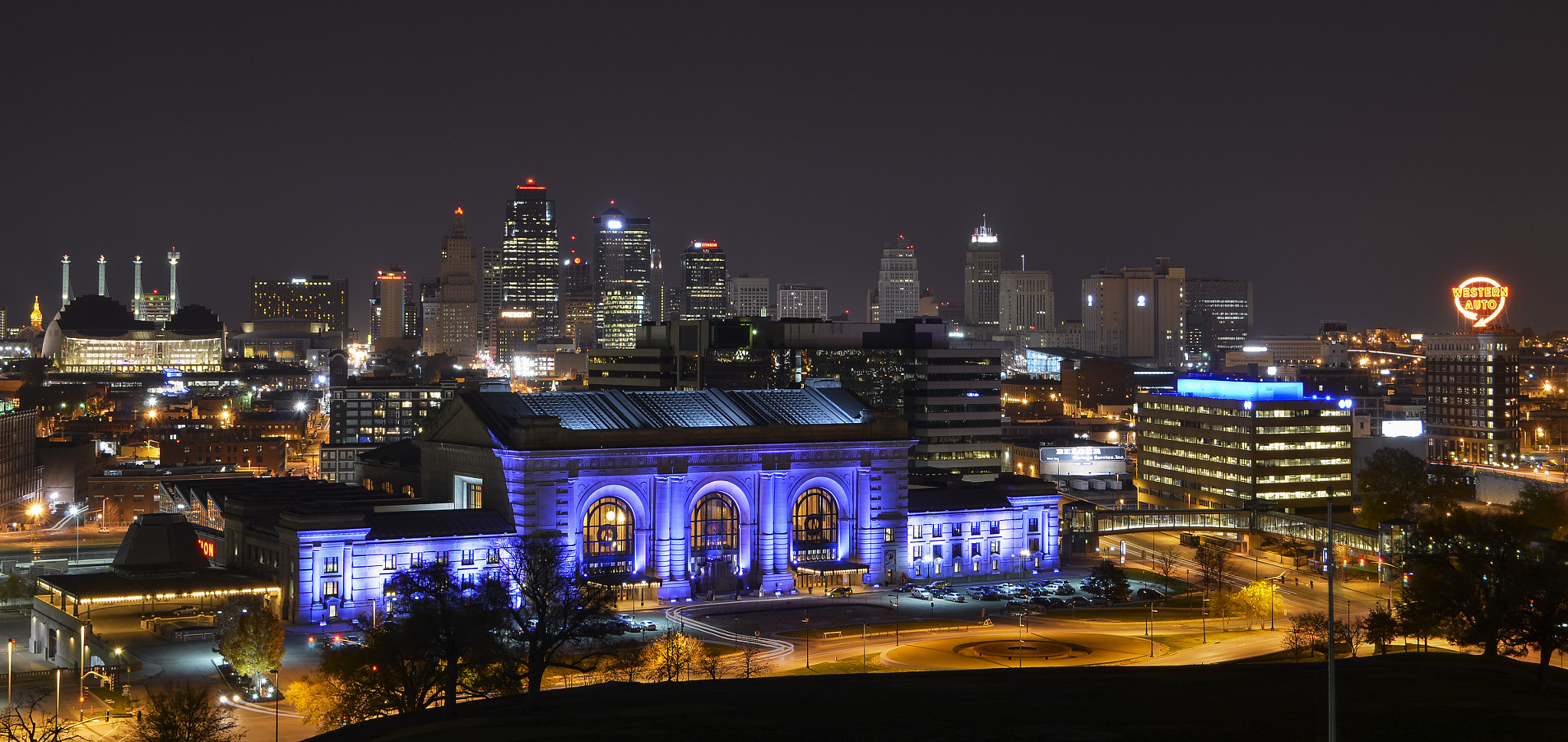 Photograph Kansas City at Night by Chris Reese on 500px