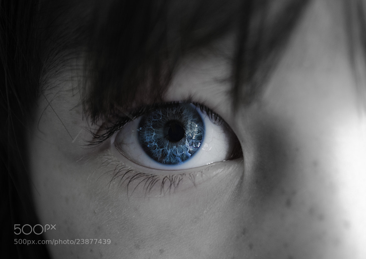Photograph Blue Eye by Chris Reese on 500px
