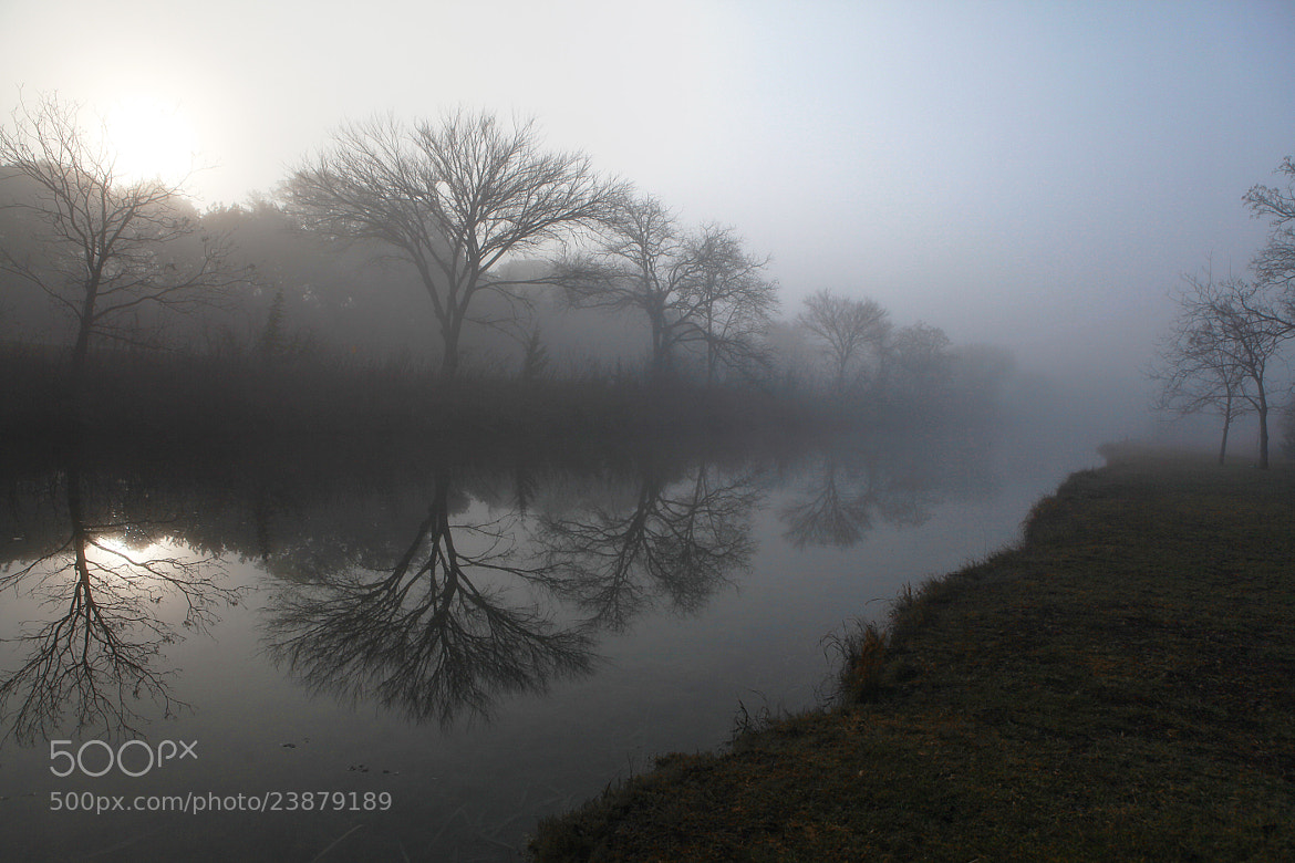 Photograph Foggy Morning Reflection by Andy Graham on 500px