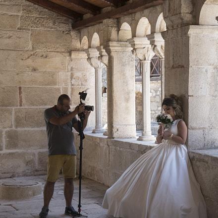 shy bride, albania 2017