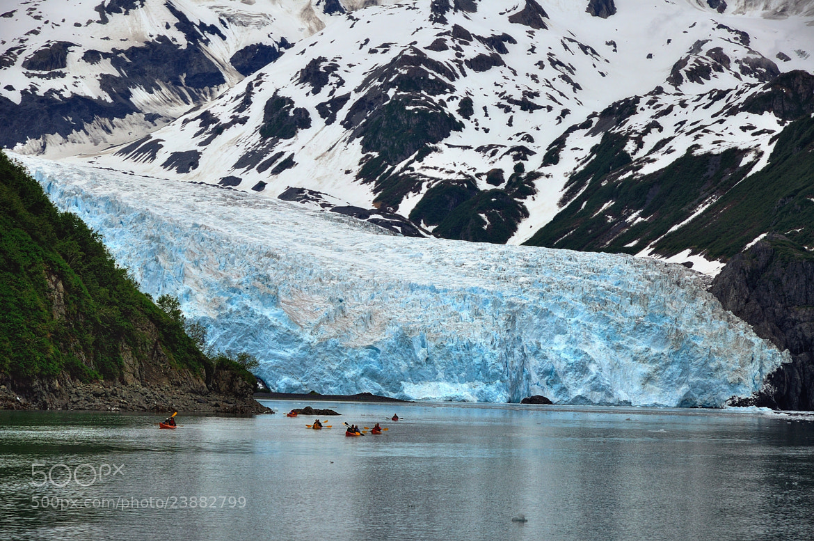 Photograph Kayaking to Aialik Glacier by Mark Stevens on 500px