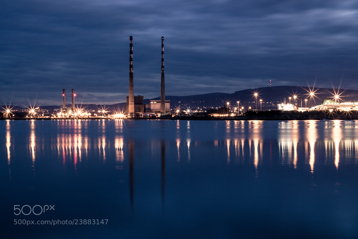 Photograph Poolbeg II by Harry Guinness on 500px